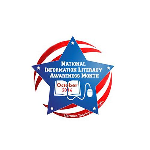 National Information Literacy Awareness Month logo
