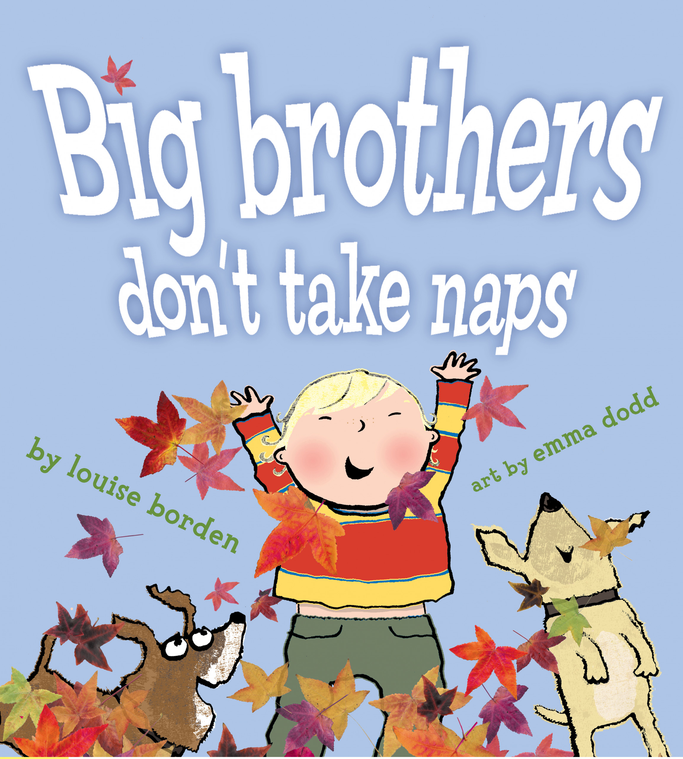 book cover for Big brothers don't take naps