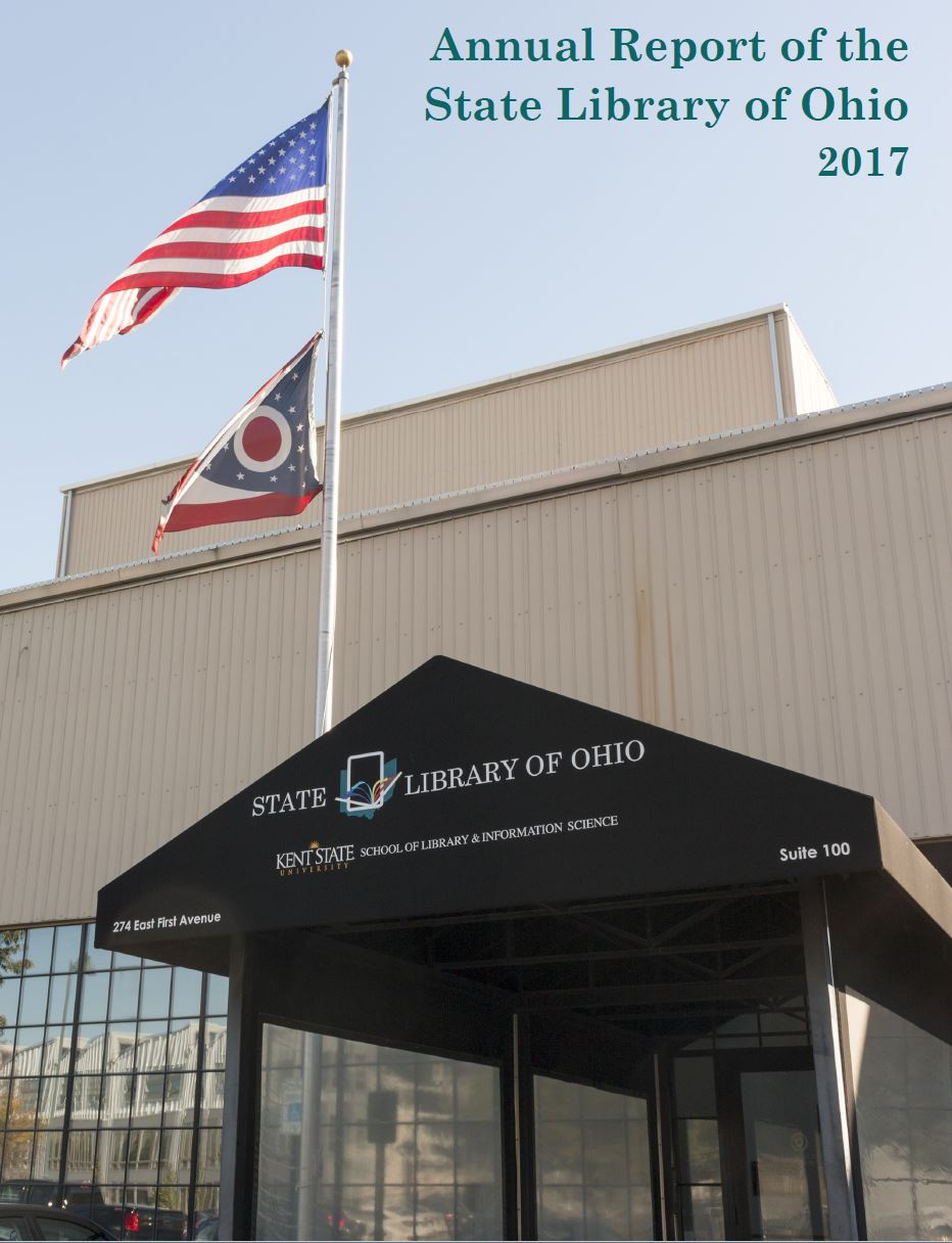 Cover photo of the 2017 State Library of Ohio Annual Report