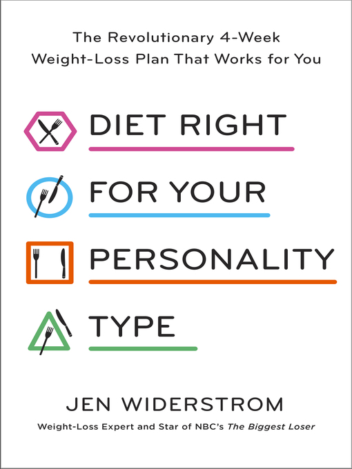 Diet right for your personality type : The revolutionary 4-week weight-loss plan that works for you by Jen Widerstrom