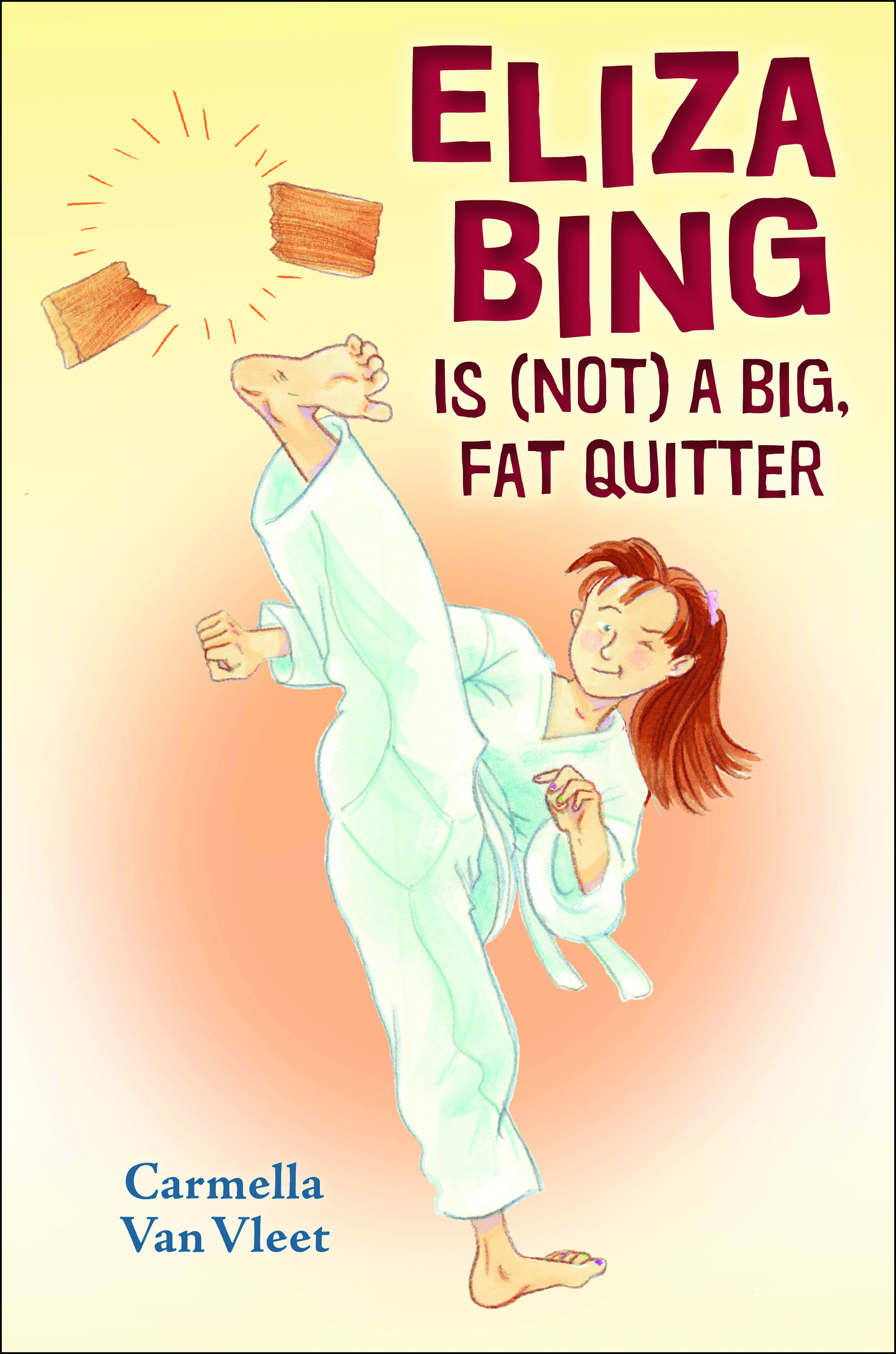 Eliza Bing Is (Not) a Big Fat Quitter book cover