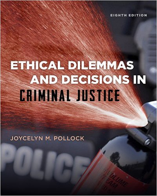 Book cover for Ethical dilemmas and decisions in criminal justice