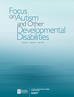 cover for Focus on Autism and Other Developmental Disabilities