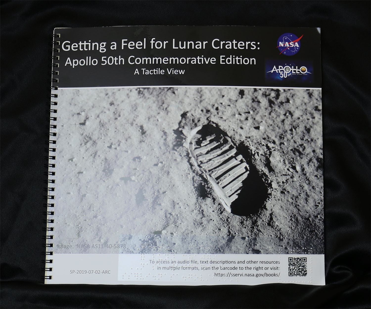 "photo of ""Getting a Feel for Lunar Craters"" cover"