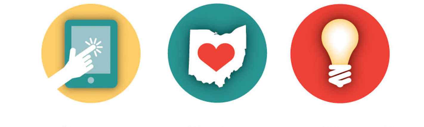 Guiding Ohio Online icons banner