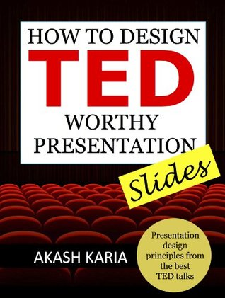 Book cover for How to Design TED-worthy presentation slides
