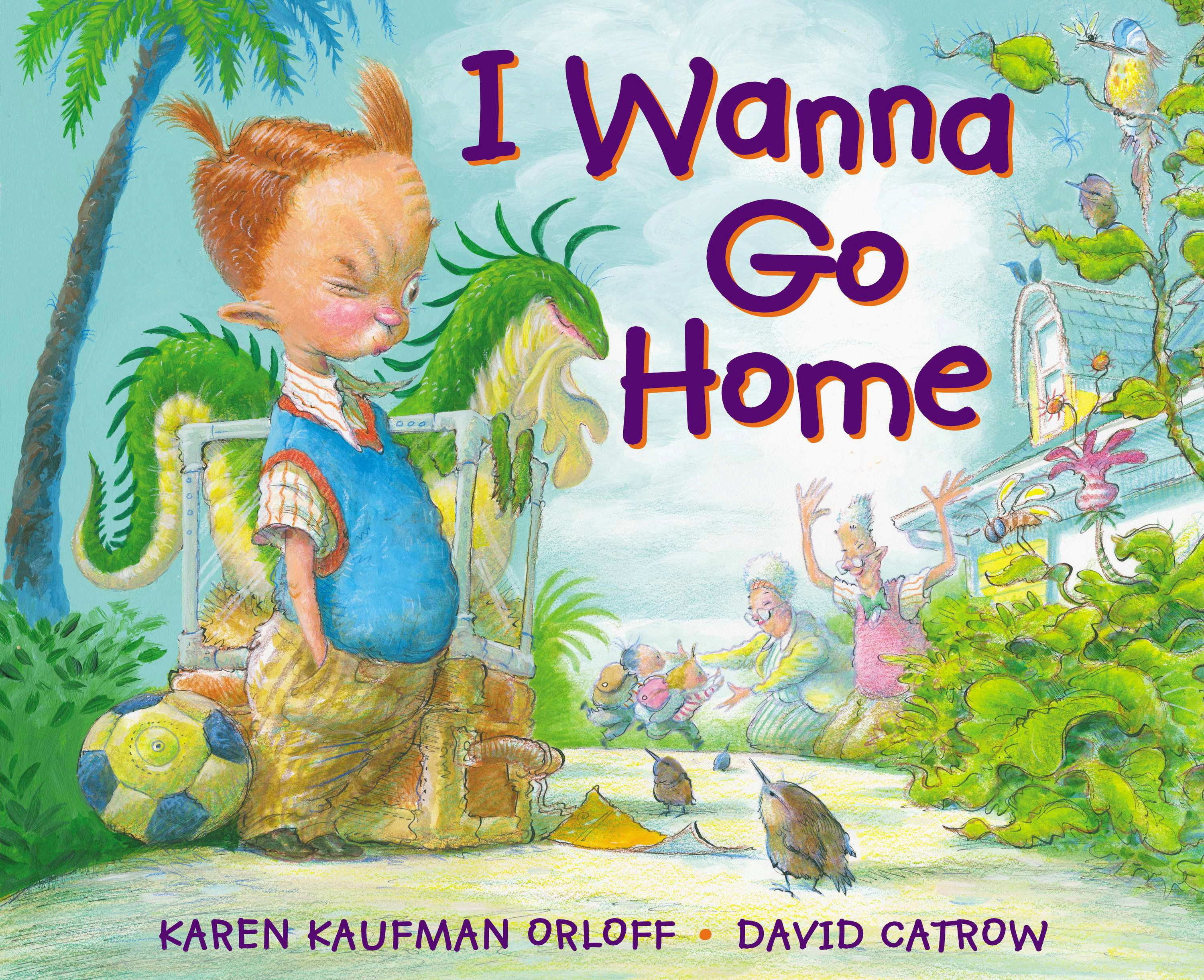 I Wanna Go Home book cover