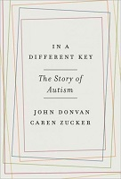 book cover for In a different key : the story of autism