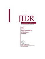 cover of Journal of Intellectual Disability Research
