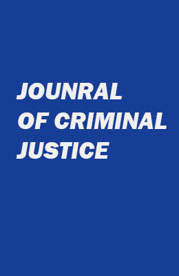 COVER FOR JOURNAL OF CRIMINAL JUSTICE