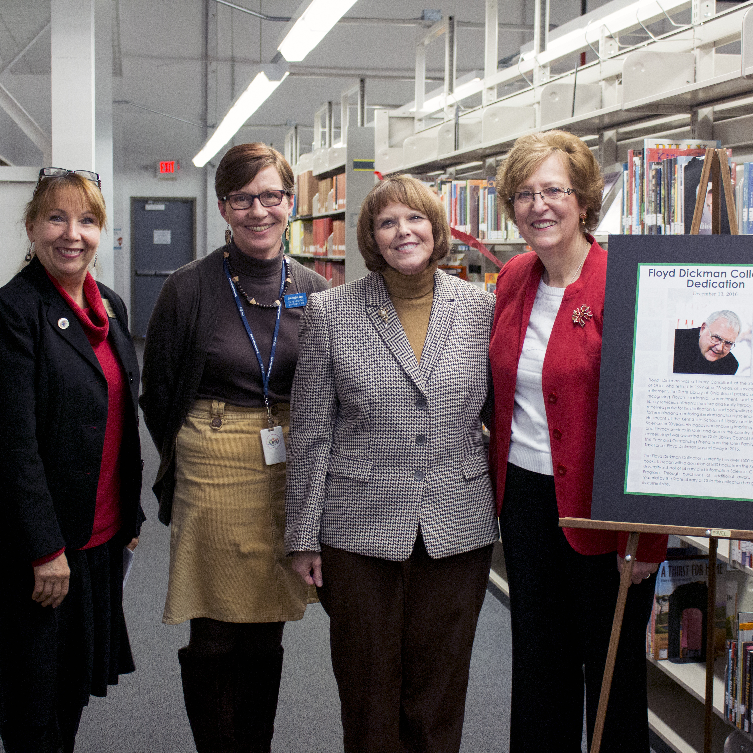 Photo from Floyd Dickman Collection Dedication