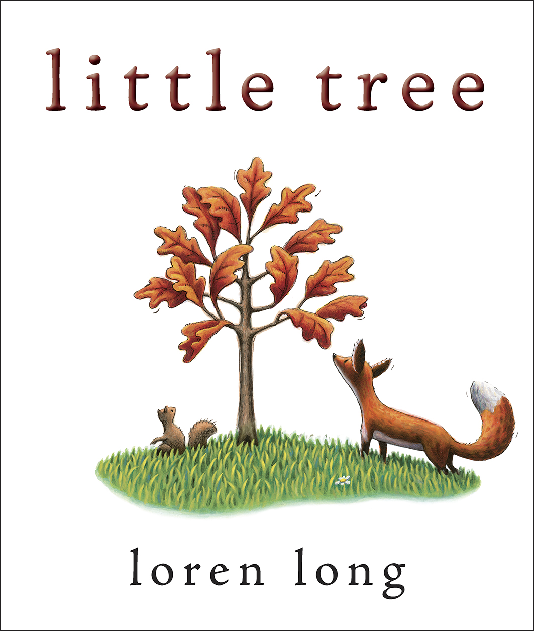 Book cover for Little Tree by Loren Long