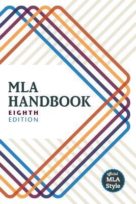 Book cover for MLA Handbook