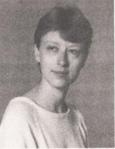 Missy A. Betcher (Lodge), 1986