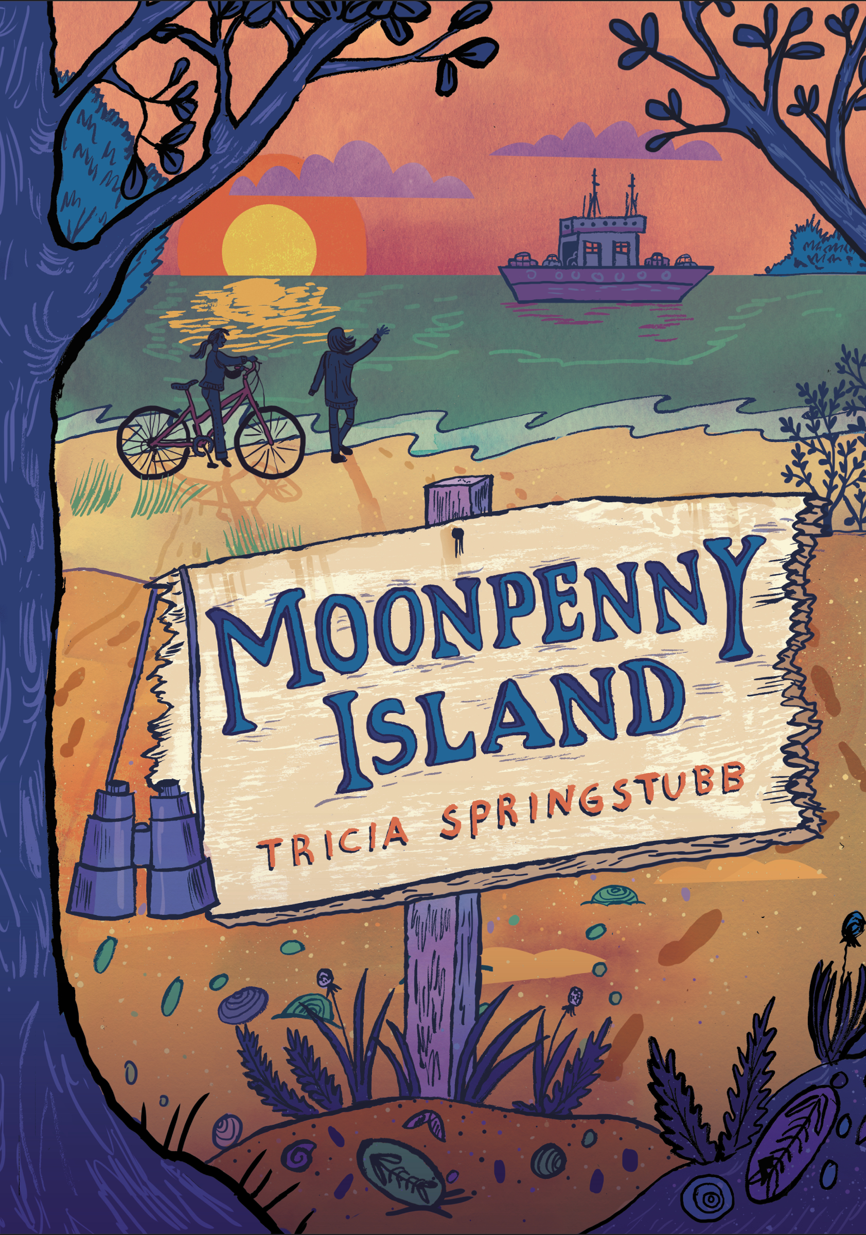 Moonpenny Island book cover
