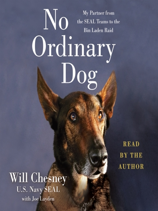 No Ordinary Dog book cover