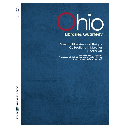 Image of Ohio Libraries Quarterly 2018 - Q3 cover