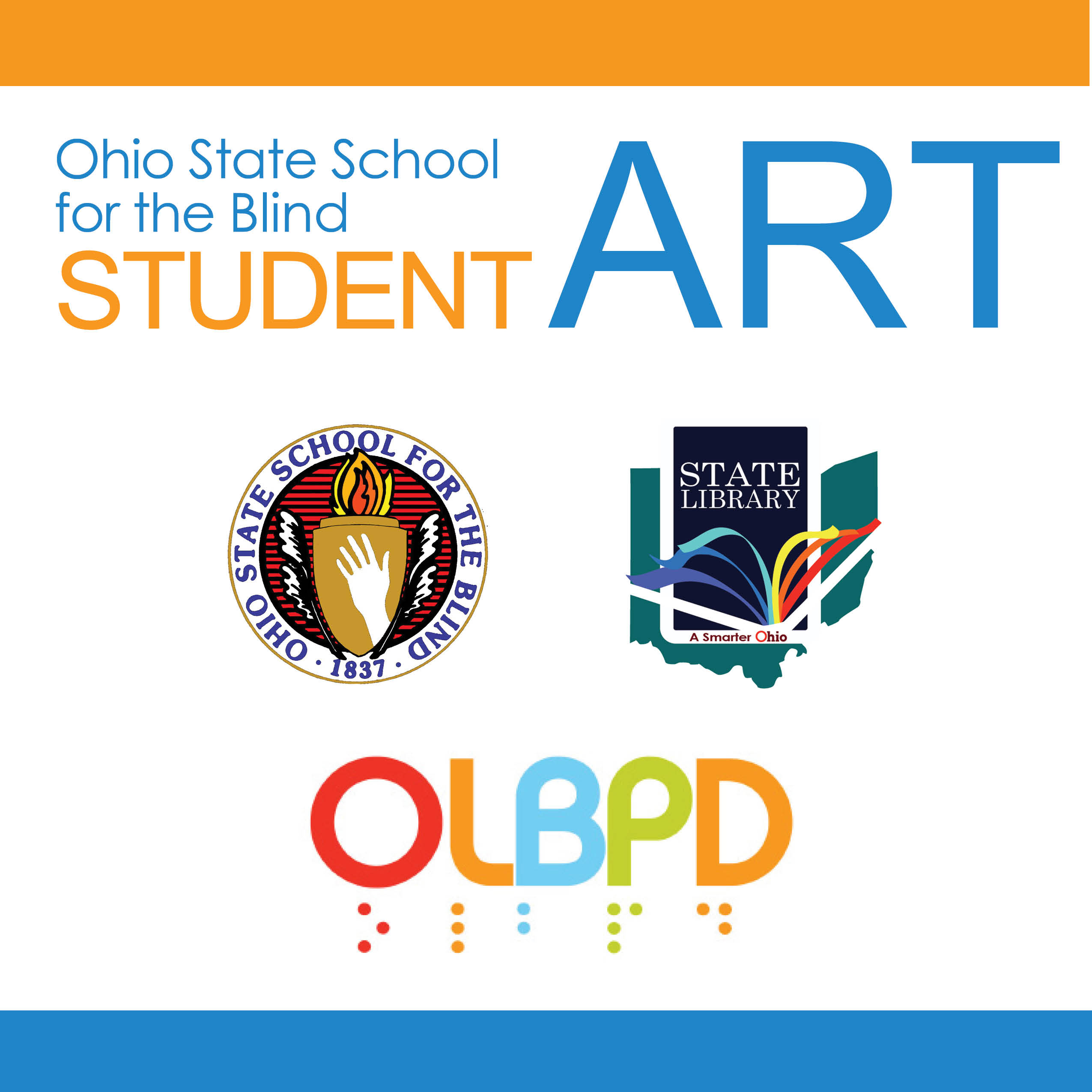 OSSB Student Art Show graphic