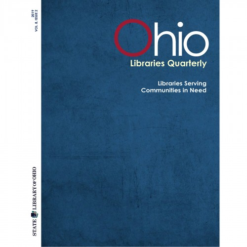 Cover of Ohio Libraries Quarterly Vol 8, Issue 2