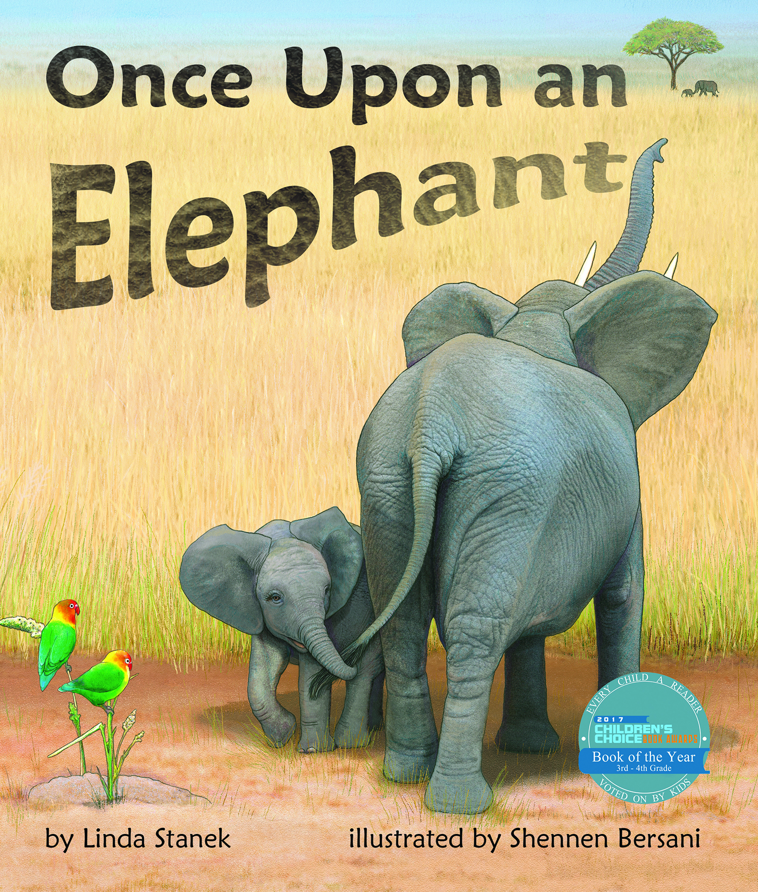 Once Upon an Elephant By Linda Stanek, illustrated by Shennen Bersani