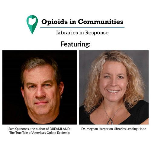 graphic for Opioids in Communities Workshop for Librarians