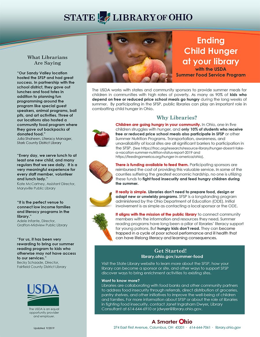 Summer Food flyer image