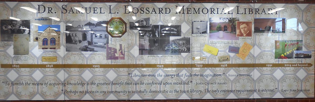 Samuel Bossard Memorial Library – Gallia County