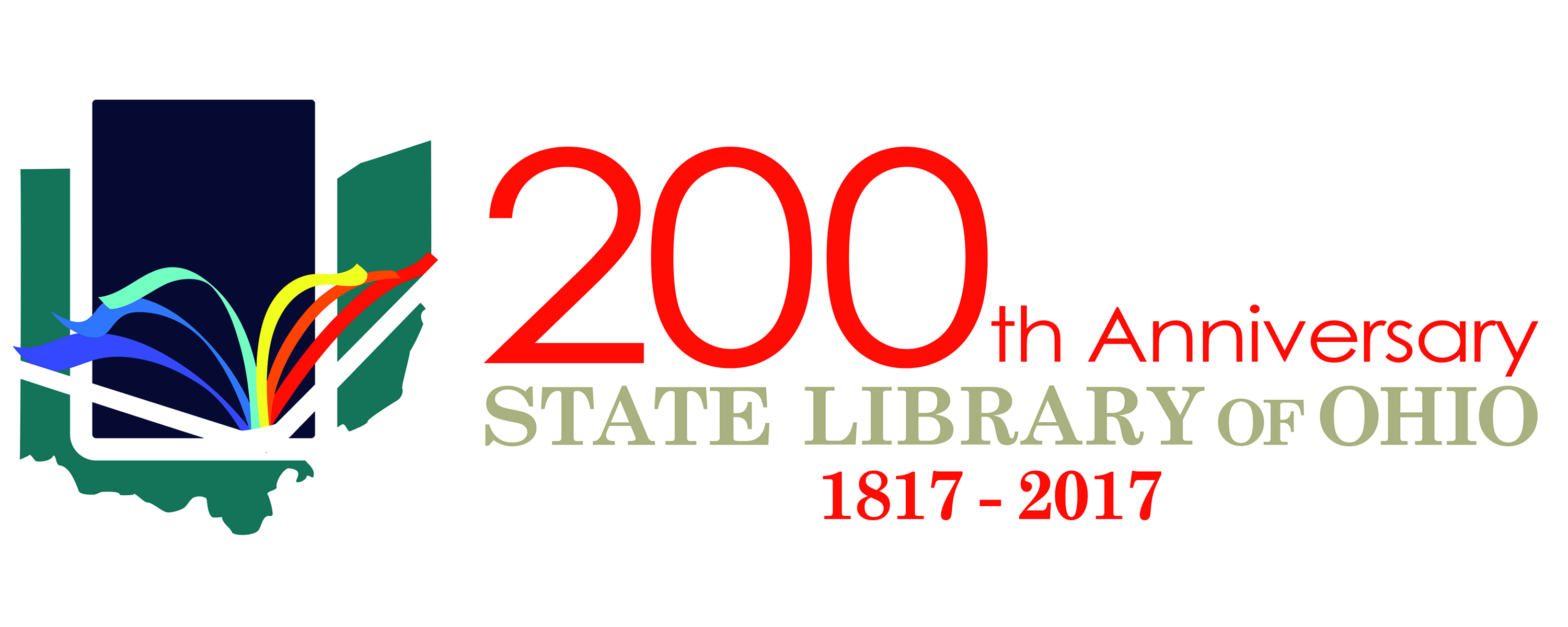 State Library of Ohio's Bicentennial Logo