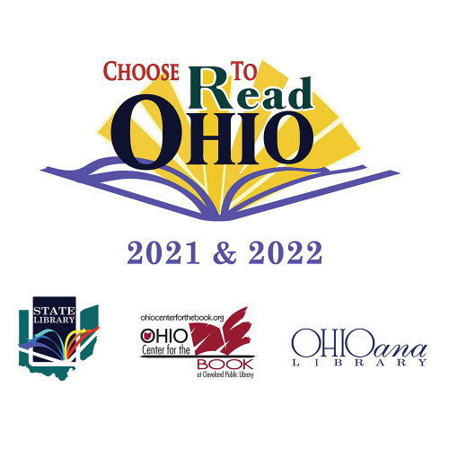 Graphic with CTRO logos and logos of State Library of Ohio, Ohioana, and Ohio Center for the Book
