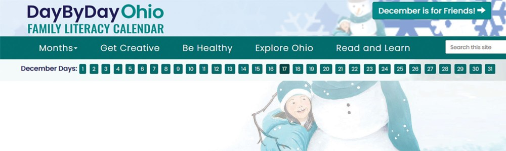Day By Day Ohio December Banner