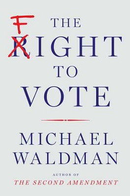 Book cover for The fight to vote