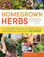 Book cover for Homegrown herbs : a complete guide to growing, using, and enjoying more than 100 herbs