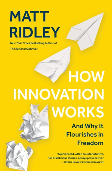 How Innovation Works book cover