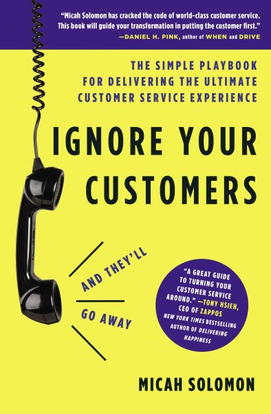 Book cover Ignore Your Customers