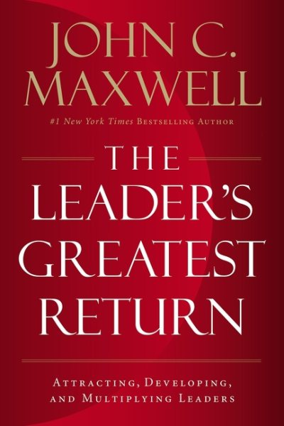 The Leader's Greatest Return book cover
