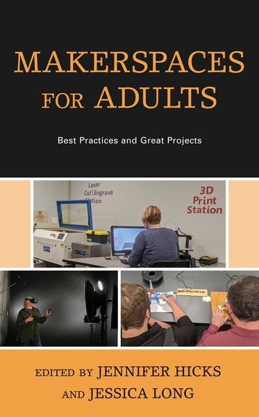 Makerspaces for Adults book cover