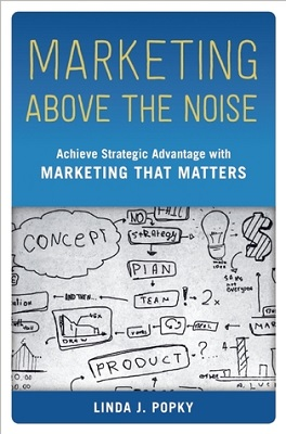 Book cover for Marketing Above the Noise