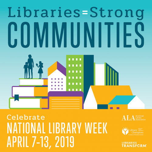 National Library Week graphic from ALA