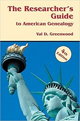 The researcher's guide to American genealogy by Val D. Greenwood