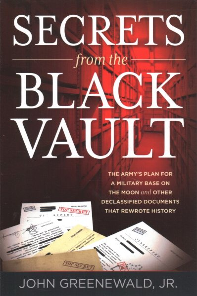 Secrets from the Black Vault book cover