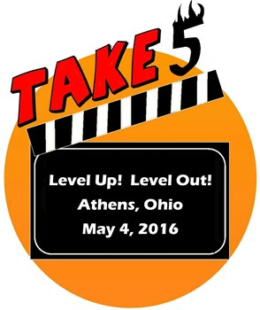 Take Five: Level Up! Level Out! logo