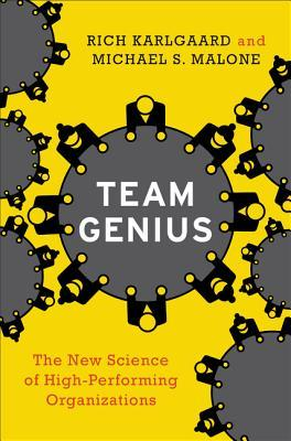 Book cover for Team Genius