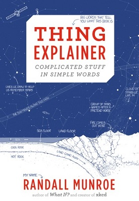 Book cover for Thing explainer : complicated stuff in simple words