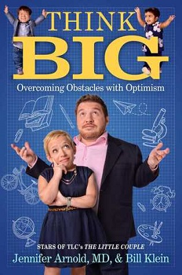 Book cover for Think big : overcoming obstacles with optimism