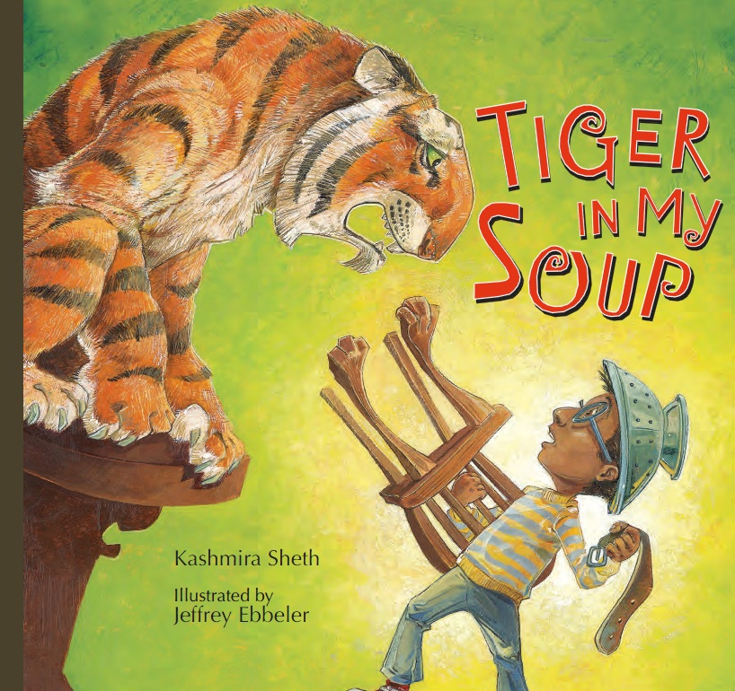 Tiger in my soup book cover