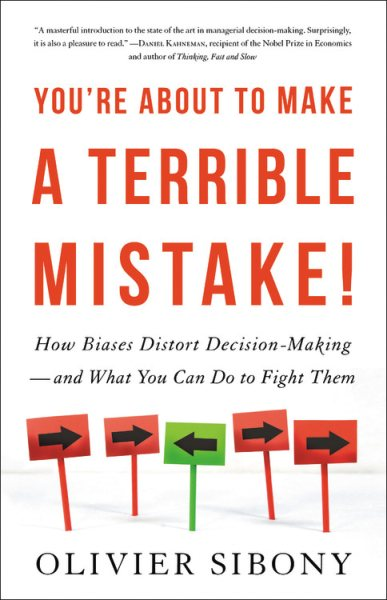 You're About to Make a Terrible Mistake book cover